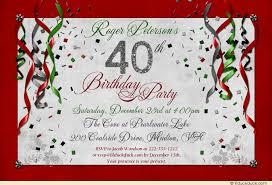 birthday party invitations festive birthday party invitations golden streamers