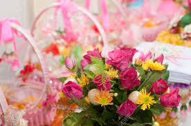 flowers romantic with love