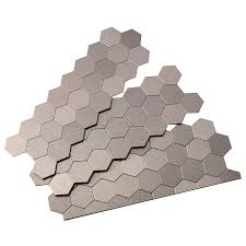 shop aspect metal 4 in x 12 in stainless metal multipurpose