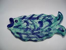 ceramic fish ring holder images Fish dish ceramic handbuilt pottery spoon rest trinket dish soap jpg