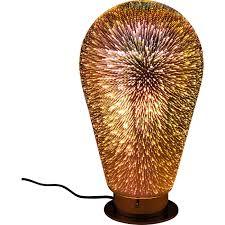 kare design leuchten tischleuchte firework bulb leuchten kare design to my rock