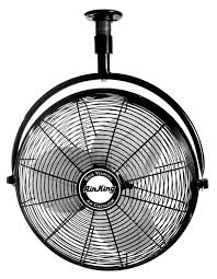 ceiling mount oscillating fan amazon com air king 9320 20 inch 1 6 horsepower industrial grade