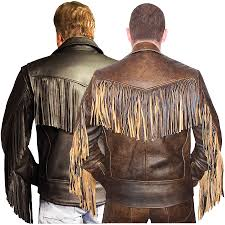 leather motorcycle jacket leather men u0027s fringed shirt mens elite fringed classic