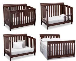 Cribs 4 In 1 Convertible Set Baby Crib Target Simmons Slumbertime Monterey 4 In 1