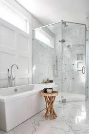 Best 25 White Master Bathroom by Carrara Marble Bathrooms Pinterest Best Bathroom Decoration