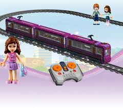 lego ideas friends train passenger power function