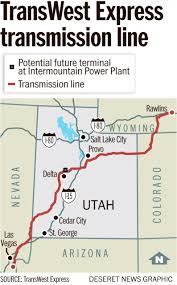 Delta Utah Map by Interior Department Approves Major Transmission Lines Through Utah