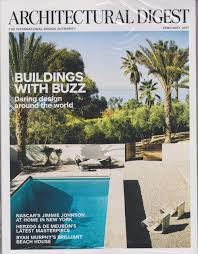 architectural digest february 2017 buildings with buzz daring