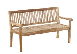 Teakholz Esszimmer Bank Sam Gartenbank Holz Teak 150 Cm Kingsbury Günstig