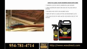 Glass Wax For Shower Doors How To Clean Your Shower Door
