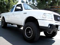 ford ranger with a lift kit 01 10 ford ranger 2wd 4 lift spindles
