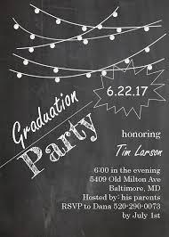 graduation party invitations high or college graduation