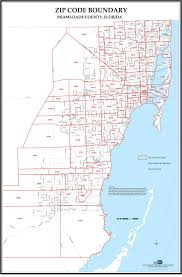 Zip Code Finder Map by Miami Neighborhood Map U2014 Miamihal Real Estate