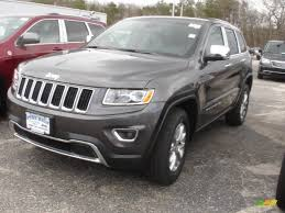 2014 granite crystal metallic jeep grand cherokee limited 4x4