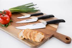 Kitchen Knives German Control 3 Piece Knife Set Zyliss Usa U2013 3 5 U201d 5 5 U201d 8 U201d German Steel