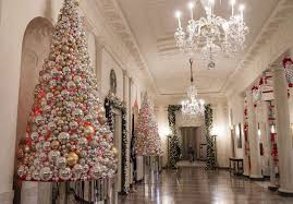 Christmas Decorations In White by Photos White House Christmas Decorations 2016 Houston Chronicle