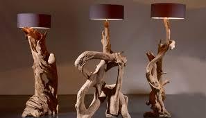 Wohnzimmer Lampe Aus Holz Wurzelholz Treibholz Standlampe Stehlampe Wurzel Lampe Xl Gross