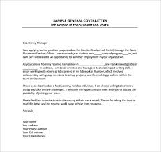 8 employment cover letter templates u2013 free sample example