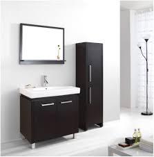 Bathroom Vanities 30 Inch by White 30 Inch Single Sink Bathroom Vanity With Matching Framed