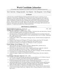 Sample Resumes for Mortgage Underwriter   an image part of Mortgage Closer Resume Examples to Inspire