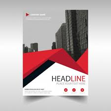 free book cover designs templates red creative annual report book cover template with triangles