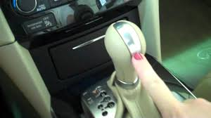 infiniti fx gear shift issues youtube