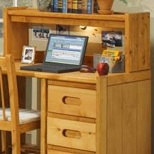 Student Desk With Hutch Trendwood Bunkhouse 4788ci Student Desk Hutch With Corkboard And