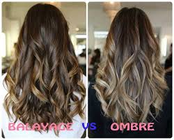 highlights vs ombre style difference between balayage and ombre hair color balayage vs ombre
