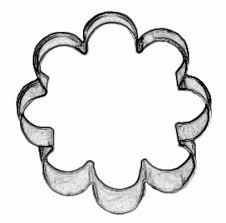 flower cookie cutter cookie cutters kitchen and bath home decor