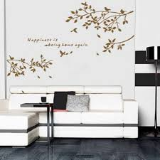 wood branches home decor black removable tree branches birds vinyl wall sticker decor decal