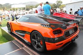 custom koenigsegg koenigsegg agera xs is the perfect fit at pebble beach autoguide