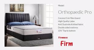 Vono Bed Frame Orthopaedic Pro Mattress Vono Johor Bahru Jb Malaysia
