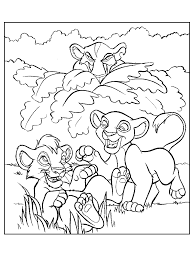 lion king 2 coloring pages coloring pages simbas pride fun site