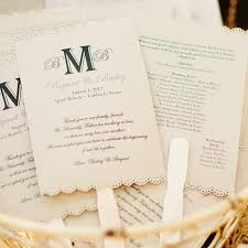 Hand Fan Wedding Programs 190 Best Wedding Programs Images On Pinterest Fan Programs