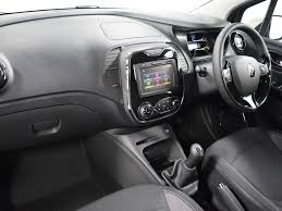 renault captur white interior nearly new renault for sale captur tce 90 dynamique s black bolton