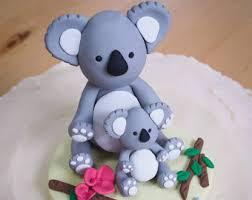 koala cake topper etsy