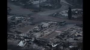 Canada Wildfires by Canada Wildfires Drone Footage Shows Devastation Of Blaze Youtube