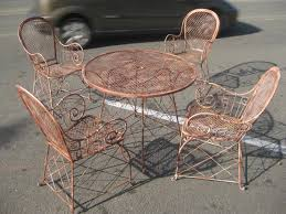 Metal Retro Patio Furniture by Vintage Patio Furniture Let 39 S Face The Music Vintage Patio