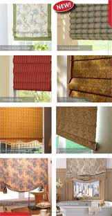Roman Shades Styles - fabric group 2 for custom hobbled roman shades