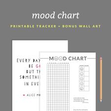 printable mood chart a year in pixels printable bonus zoom
