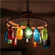 Wine Bottle Light Fixtures 7 Diy Unique Upcycled Bottle Lights Diy Recycled