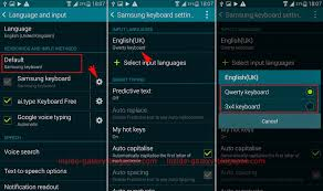 how to change keyboard on android samsung galaxy s5 how to change portrait keyboard types in
