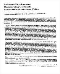 software development agreement software development proposal