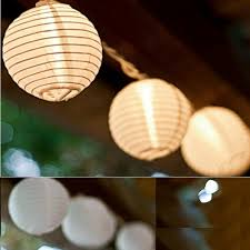 Diy Lantern Lights 3 8 Meters 10cm Handmade Diy White Multicolor Paper Lantern L