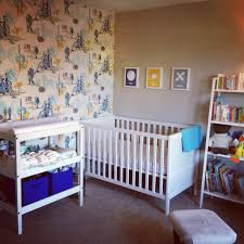nasa themed boy nursery with vintage wallpaper pinterest success