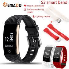 best cycling waterproof lemado s2 bluetooth smart band wristband heart rate monitor ip67