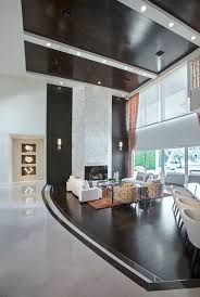 modern contemporary home tour royal palm conrad white interiors great room