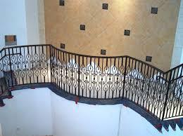 wrought iron baluster panels balcony for decks nature rails