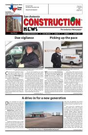 Stephens Roofing San Antonio Tx by San Antonio Construction News March 2015 By Construction News Ltd