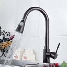 kitchen faucet black finish aliexpress buy 2017 kitche faucet solid brass black finish